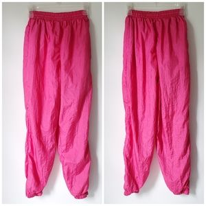 Vintage 90's 80's Fully Lined Warm Up Joggers EUC!